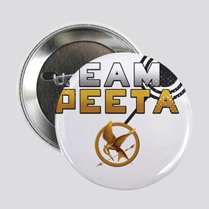 "Team Peeta [Hunger Games] 2.25"" Button"